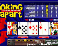 Joking apart video poker játék