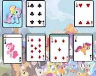 My Little Pony solitaire játék